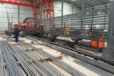 ચાઇના સરળ કામગીરી ટકાઉ અને મજબૂત ગુણવત્તા ખાતરી સ્ટીલ રીબાર કેજ વેલ્ડીંગ મશીન બનાવવામાં અને પાંજરામાં બનાવટ મજબૂતી